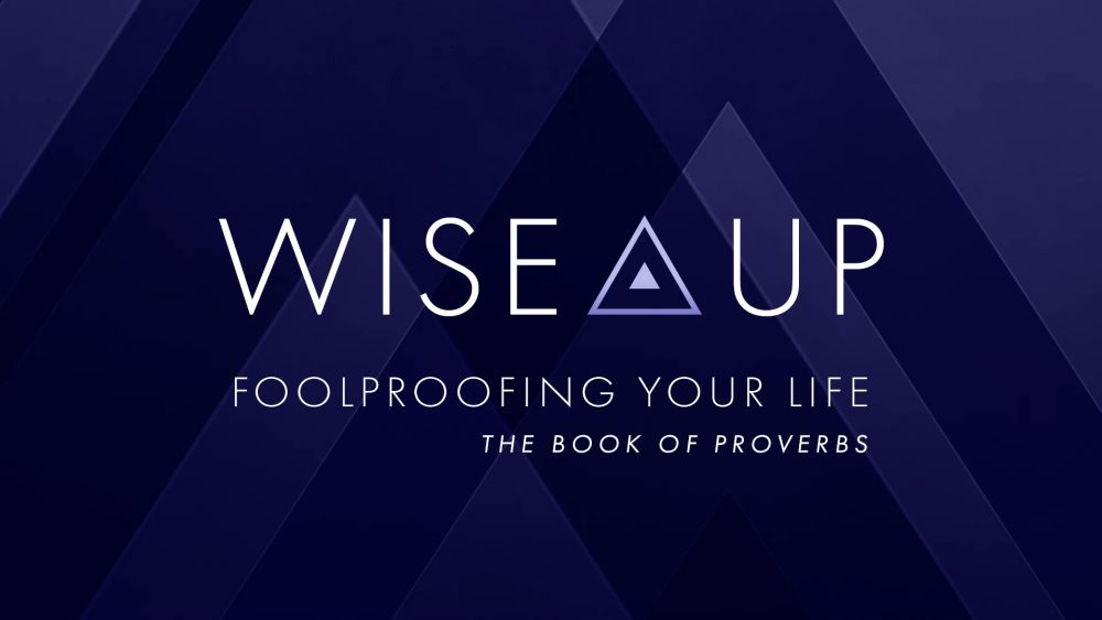 WISE UP! Foolproofing Your Life