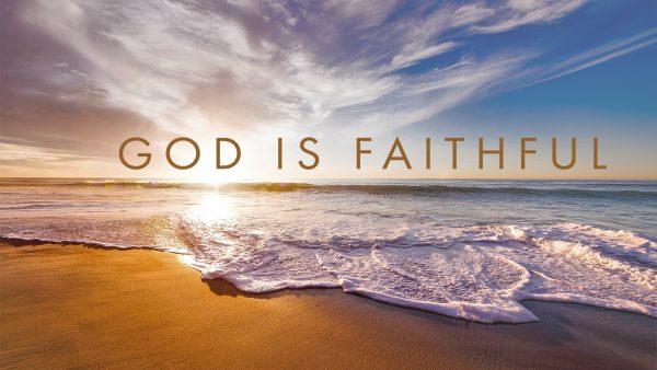 God is Faithful Image